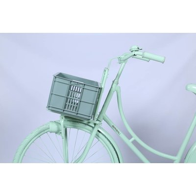 Basil Crate S - bicycle crate -  25L - seagrass