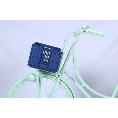 Basil Crate S - bicycle crate -  25L - bluestone