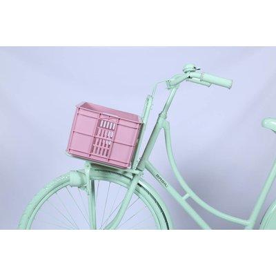 Basil Crate S - fietskrat -  25L - faded blossom