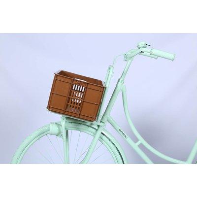 Basil Crate S - fietskrat -  25L - saddle brown