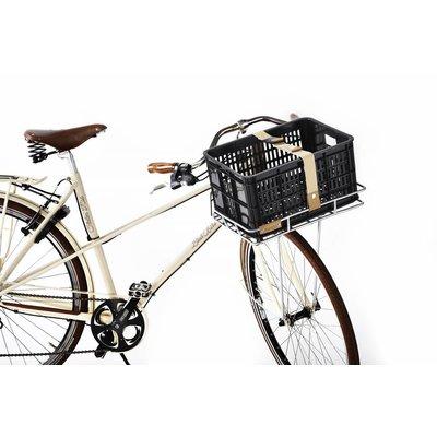 Basil Crate S - bicycle crate - 25l - black