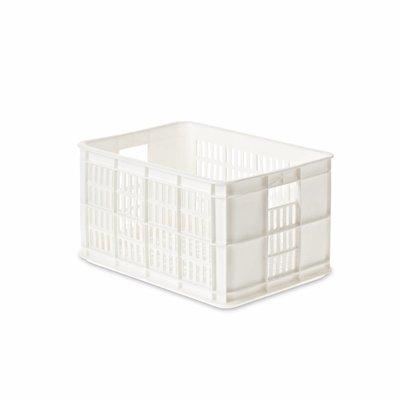 Basil Crate S - fietskrat - 25L - wit