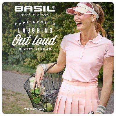 Basil Bold S - Fahrradkorb - hinten - schwarz