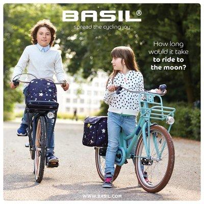 Basil Stardust - fietsbel - 60 mm - blauw