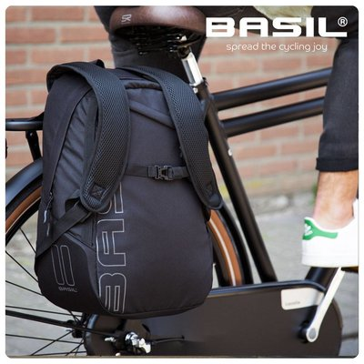 Basil Flex Backpack - Bicycle Backpack - Black