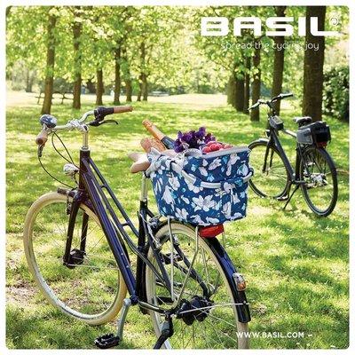 Basil Magnolia Carry All MIK - fietsmand – achterop -  blauw