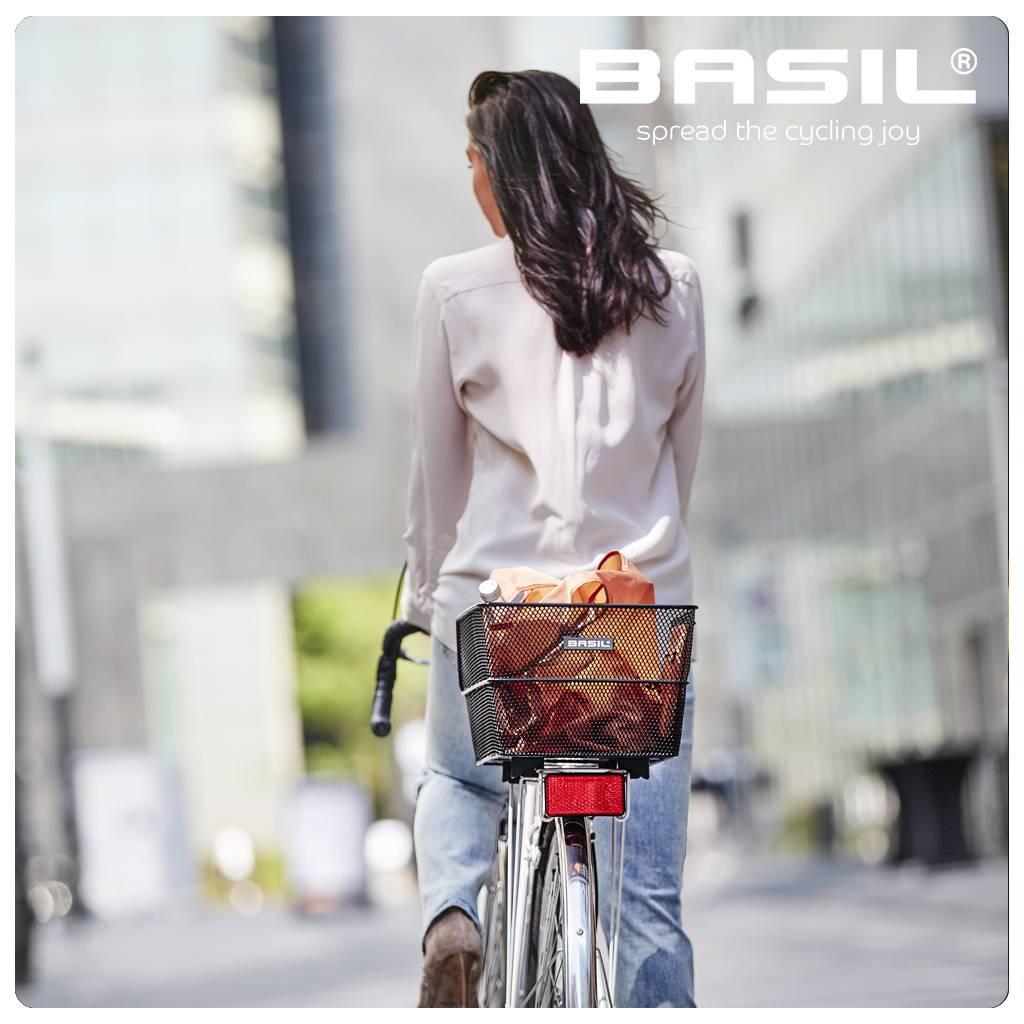 Basil Cento Wsl Fahrradkorb Hinten Schwarz Basil