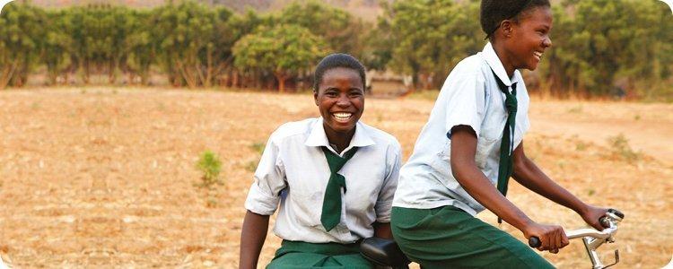Basil unterstützt World Bicycle Relief mit €3.109,14
