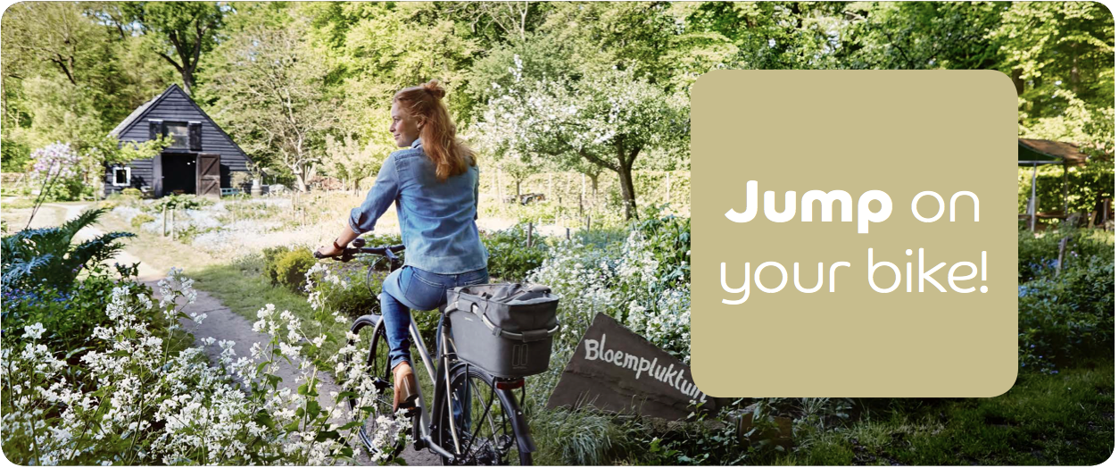 Spring at Basil: jump on your bicycle!
