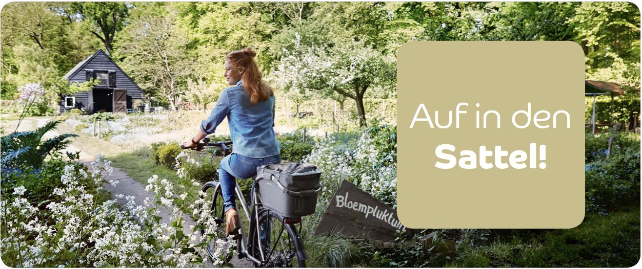 Frühling bei Basil: spring auf's Fahrrad!