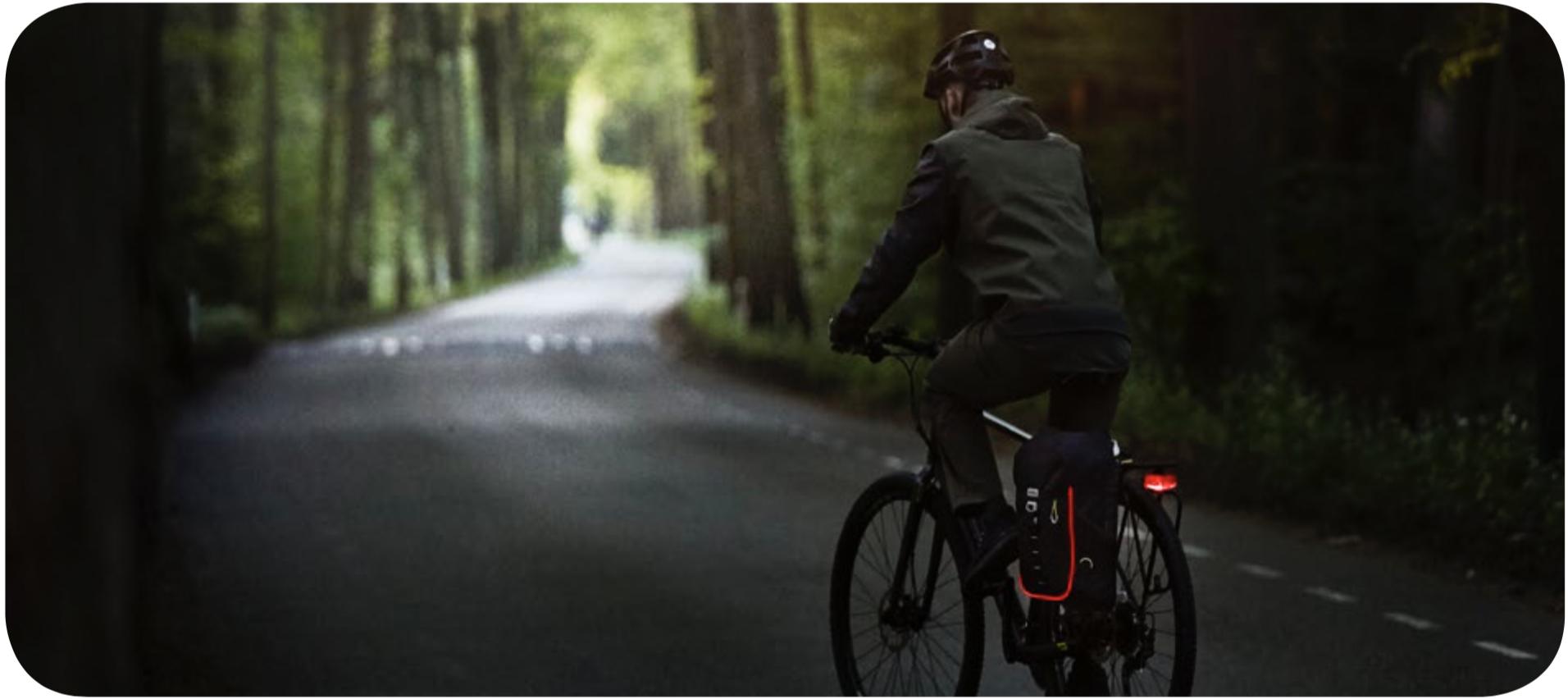 fietsrugzak - comfortabel