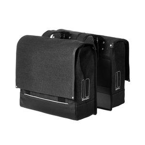 Urban Fold Double Bag - Black
