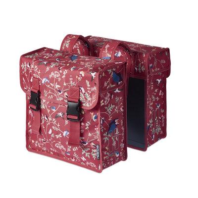 Basil Wanderlust Double Bag - double bike bag - 35L - red