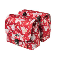 Magnolia S Double Bicycle Bag - Red