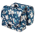 Magnolia S Double Bicycle Bag - Blue