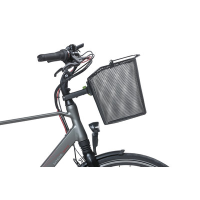 Basil Bremen + Basil Ahead-Stemholder KF - fietsmand -  zwart