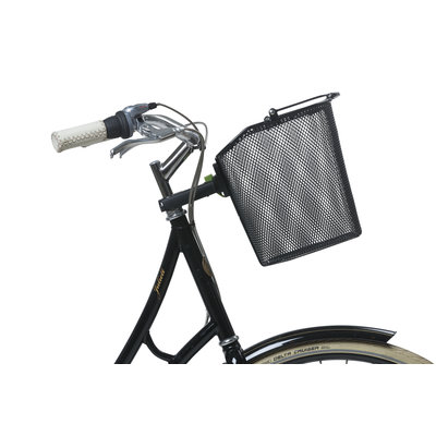 Basil Bremen + Basil Ahead-Stemholder KF - Fahrrad - schwarz
