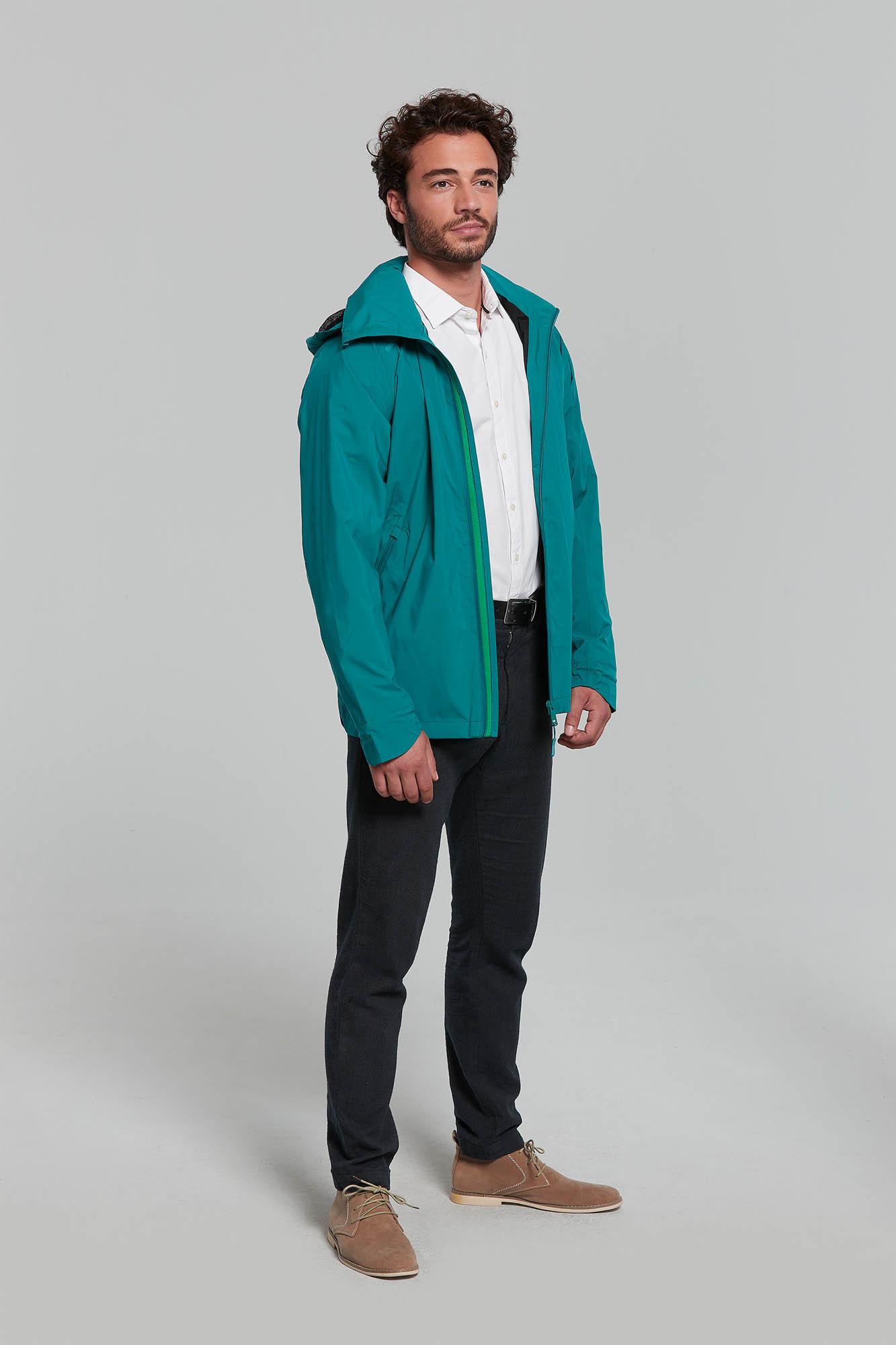 Bicycle Rain Cape Rain Jacket Turquoise Blue Unisex NEW!!!