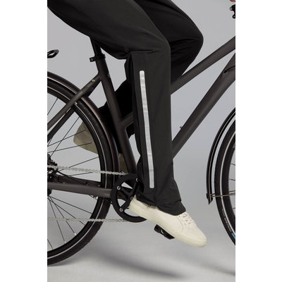Basil Mosse fietsregenbroek - dames - zwart