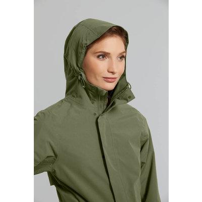 Basil Mosse bicycle rain parka - women - green