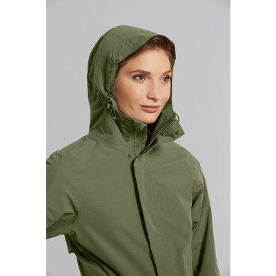 Basil Mosse regenparka - dames - groen