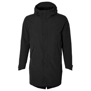 Basil Mosse bicycle rain parka - men - black