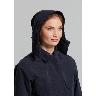Basil Mosse bicycle rain trenchcoat - women - blue