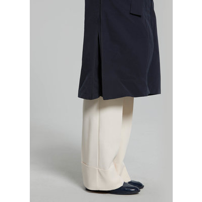 Basil Mosse Fahrradregentrenchcoat - Damen - blau