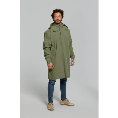 Basil Mosse bicycle rain poncho - unisex - green