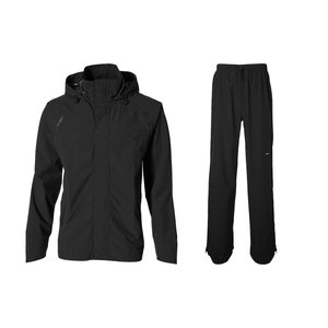 Basil Hoga bicycle rain suit - unisex - black