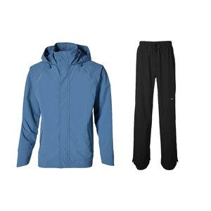 Basil Hoga Fahrradregenanzug - Unisex - blau