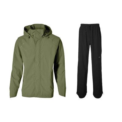 Basil Hoga bicycle rain suit - unisex - green