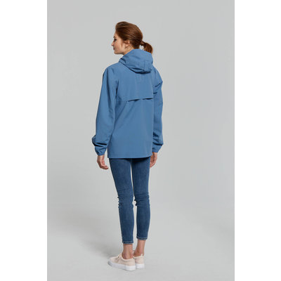Basil Hoga bicycle rain jacket - unisex - blue