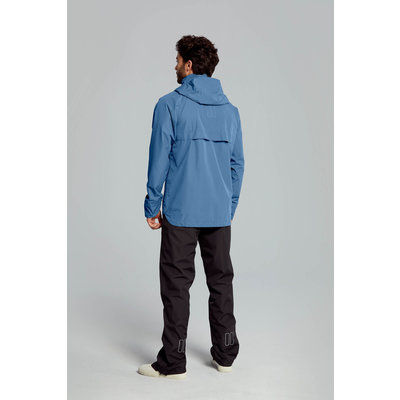 Basil Hoga bicycle rain suit - unisex - blue