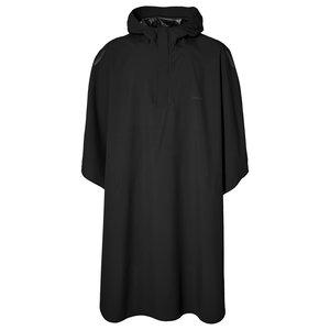 Hoga rain poncho - black