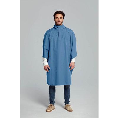 Basil Hoga Fahrradregenponcho - Unisex - blau