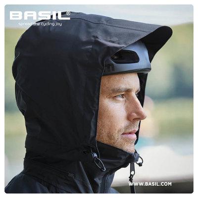 Basil Skane fietsregenjas - heren - groen