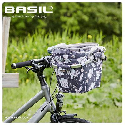 Basil Magnolia Carry All KF – Fahrradkorb – vorne - dunkelblau