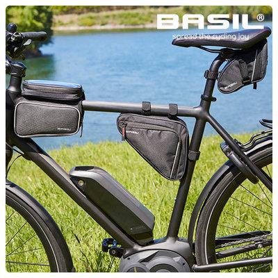 Basil Sport Design - triangle frame bag M - 1.7 liter - black