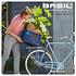 Basil Crate L - bicycle crate -  50 liter - silver cloud