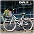 Basil Crate M - bicycle crate -  33 liter - saddle brown