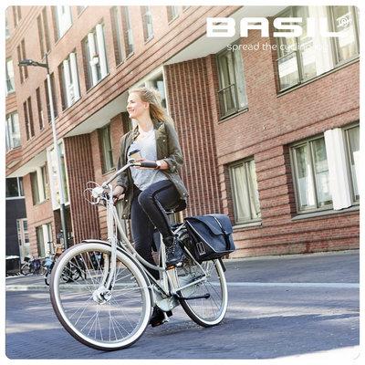 Basil Forte - dubbele fietstas - 35 liter - Zzart
