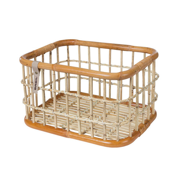 Green Life - bicycle basket L - brown