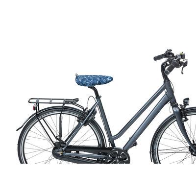 Basil Wanderlust - saddle cover - indigo blue