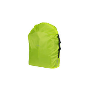 Basil Keep Dry and Clean - raincover - vertical - neon yellow