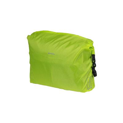 Basil Keep Dry and Clean - raincover - horizontal - neon yellow