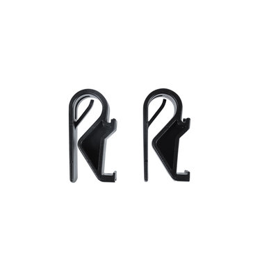 Basil Hook-On system Sports - set of 2 hooks -  Ø10-12mm - black
