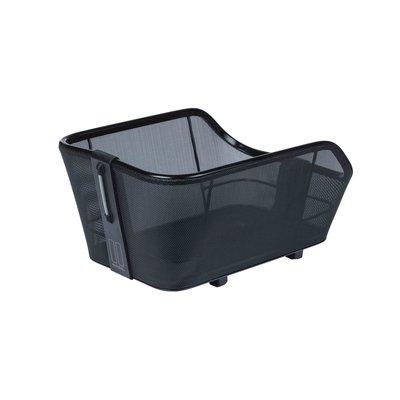 Basil Cento Tech Fiber WSL - fietsmand - achterop - solid zwart