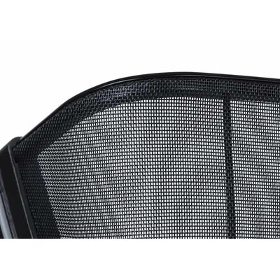 Basil Cento Tech Fiber WSL - Fahrradkorb - hinten - solid schwarz
