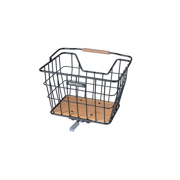 Nordland - bicycle basket - black